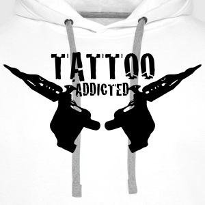 Tattoo Addicted  1c Kookschorten - Mannen Premium hoodie