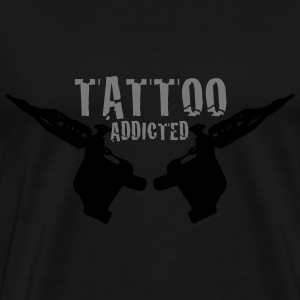 Tattoo Addicted Tattosüchtig Sucht Süchtig 2c Bags & backpacks - Men's Premium T-Shirt