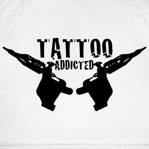 Tattoo Tattoo Addict Addicted Addiction 1c T-shirts - Basebollkeps