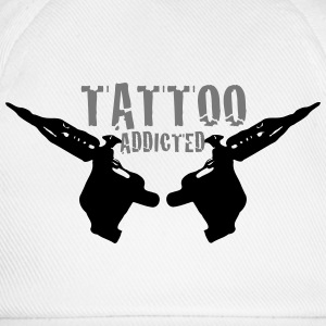 Tattoo Addicted Tattosüchtig Sucht Süchtig 2c T-Shirts - Baseball Cap