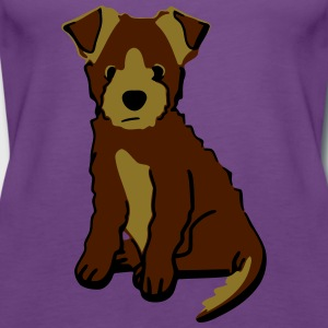 puppy 1 Shirts - Vrouwen Premium tank top