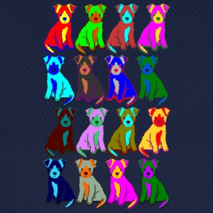 colorful puppies T-shirts - Basebollkeps