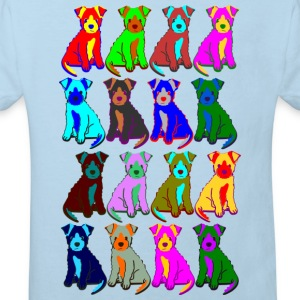 colorful puppies Hoodies - Kids' Organic T-shirt
