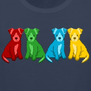 puppies Sweaters - Mannen Premium tank top