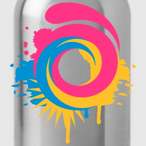A colorful swirl Shirts - Water Bottle