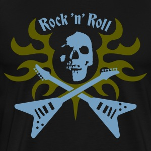 rock_and_roll Hoodies & Sweatshirts - Men's Premium T-Shirt