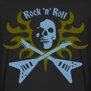rock_and_roll Sweatshirts - Herre premium T-shirt med lange ærmer