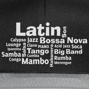Latin tag cloud T-Shirts - Snapback Cap