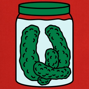 Cucumber Preserving Jar T-shirts - Keukenschort