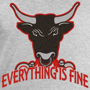 everything is fine - BULL - Männer Sweatshirt von Stanley & Stella