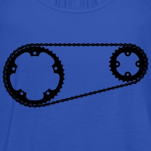 Chainring with chain cycling T-Shirt - Women's Tank Top by Bella