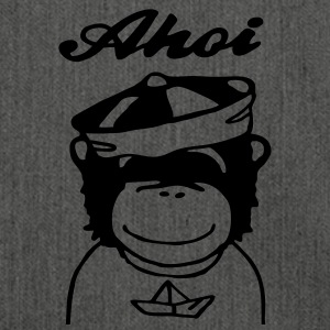 Ahoi Sailor (Pop Chimps) Pullover & Hoodies - Schultertasche aus Recycling-Material