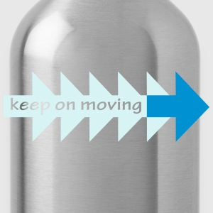 Keep on moving (his) - Water Bottle
