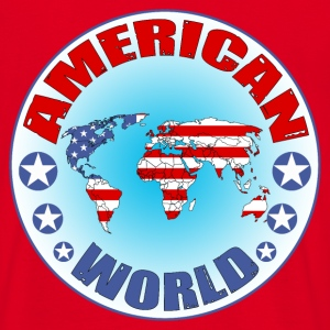 american world Sweat-shirts - T-shirt Homme