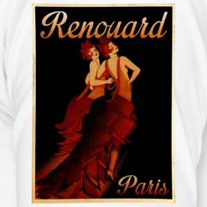 Vintage Poster Fashion Paris Flasker og krus - Herre premium T-shirt