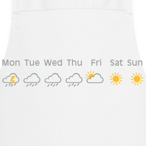 nice weekend weather T-shirts - Förkläde