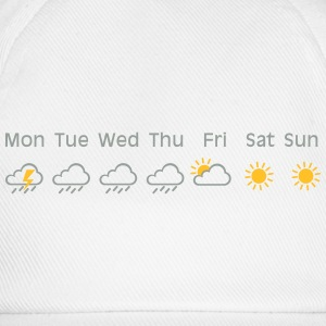 nice weekend weather Magliette - Cappello con visiera