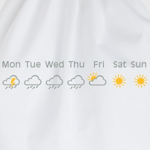nice weekend weather T-shirts - Gymnastikpåse