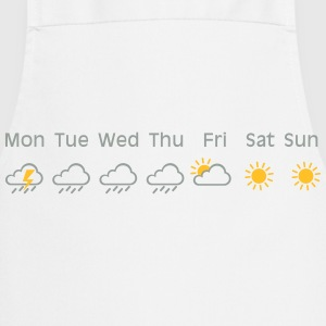 nice weekend weather T-shirts - Keukenschort