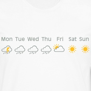 nice weekend weather T-shirts - Mannen Premium shirt met lange mouwen