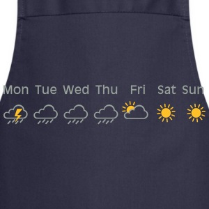 nice weekend weather T-shirts - Forklæde