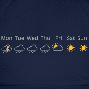 nice weekend weather Shirt - Baseballkappe