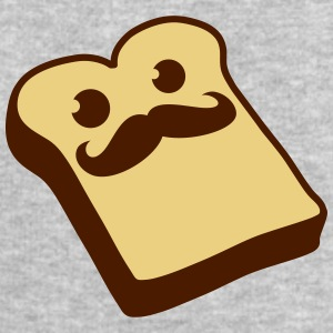 Sir Mustache Toast T-Shirts - Men's Sweatshirt by Stanley & Stella