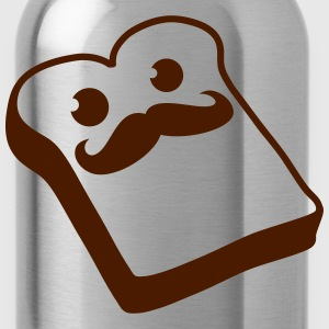 Sir Mustache Toast T-Shirts - Water Bottle