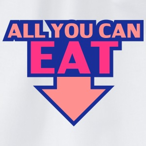 All You Can Eat T-shirts - Gymnastikpåse