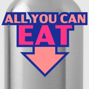All You Can Eat T-Shirts - Water Bottle