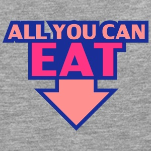 All You Can Eat T-shirts - Långärmad premium-T-shirt herr