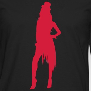 Sexy Showgirl Stripperin Lapdance 1c Tee shirts - T-shirt manches longues Premium Homme