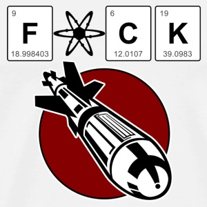 F*ck the atomic bomb - Mannen Premium T-shirt