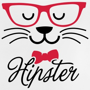Swag hipsta hipster pussy cat animal style face T-shirts - Baby T-shirt
