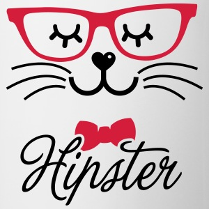 Love a hipsta hipster glasses bunny rabbit face Camisetas - Taza