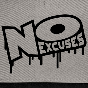 No Excuses Tee shirts - Casquette snapback