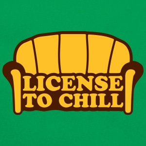 Lizense To Chill Camisetas - Bandolera retro