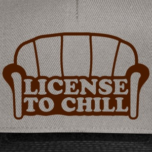 Lizense To Chill T-shirts - Snapback cap
