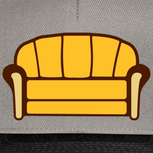 Couch T-skjorter - Snapback-caps