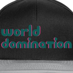 world domination T-shirts - Snapback cap