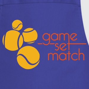 TENNIS: GAME SET MATCH - Keukenschort