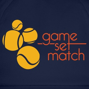 TENNIS: GAME SET MATCH - Baseballcap
