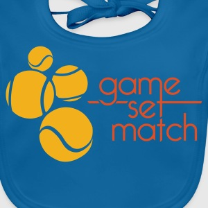 TENNIS: GAME SET MATCH - Bio-slabbetje voor baby's