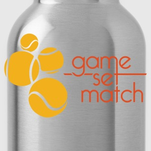TENNIS: GAME SET MATCH - Drinkfles