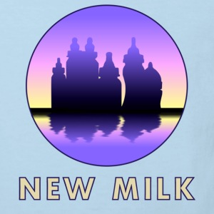 New Milk Skyline Sweatshirts - Organic børne shirt