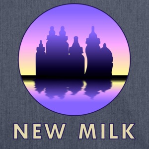 New Milk Skyline Felpe - Borsa in materiale riciclato