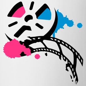 An old film reel with a film as a graffiti T-Shirts - Mug