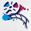 An old film reel with a film as a graffiti Shirts - Baby T-Shirt