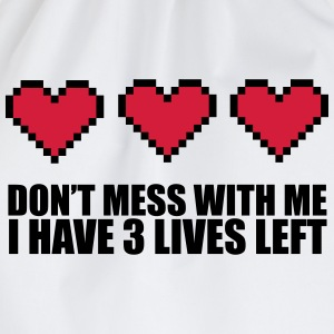 3 Lives Left T-shirts - Sportstaske