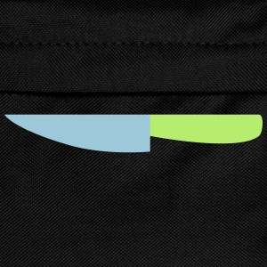 Kitchen Knife / Cuts like a knife 2c Shirts - Kids' Backpack